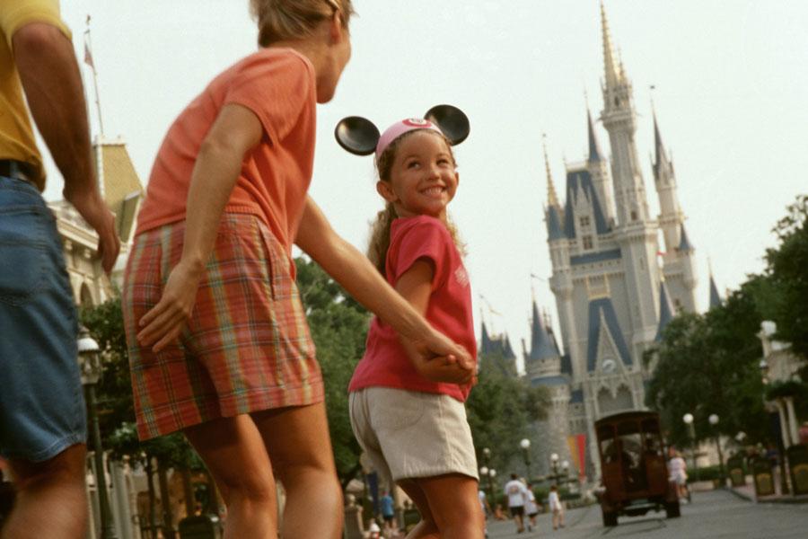 Family Disney Castle