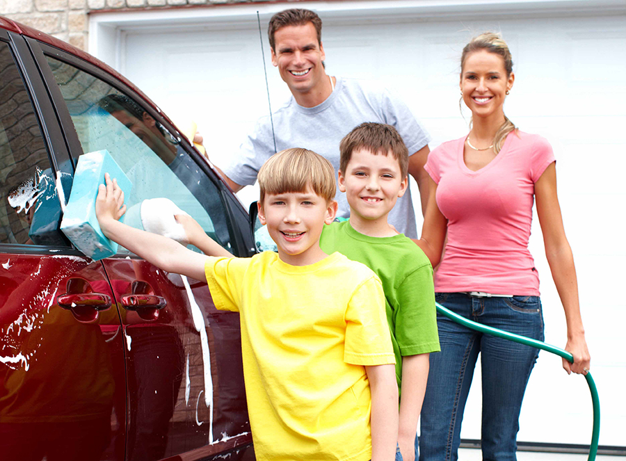 get your car spring ready with a good wash