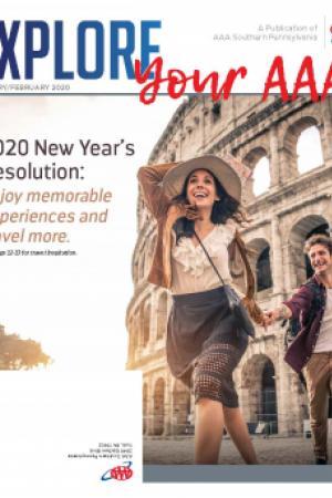 January February 2020 - Explore Your AAA Magazine Cover